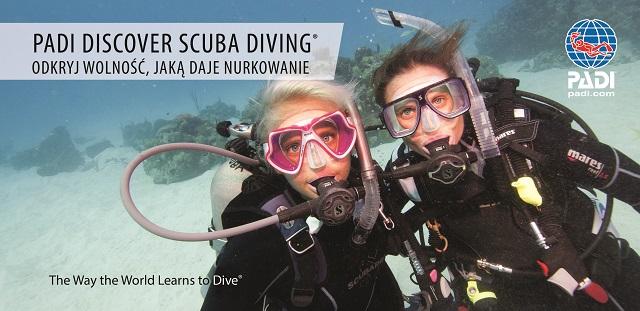Discover Scuba Diving - odkryj wolność jaką daje nurkowanie