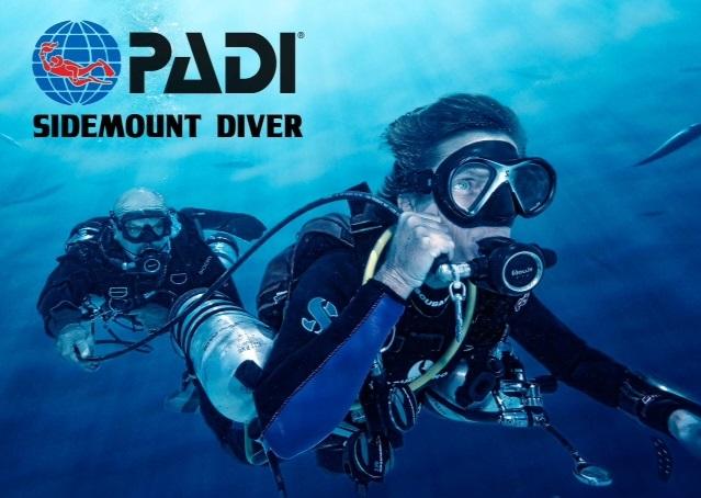 Kurs sidemount - PADI - Sidemount nurkowanie