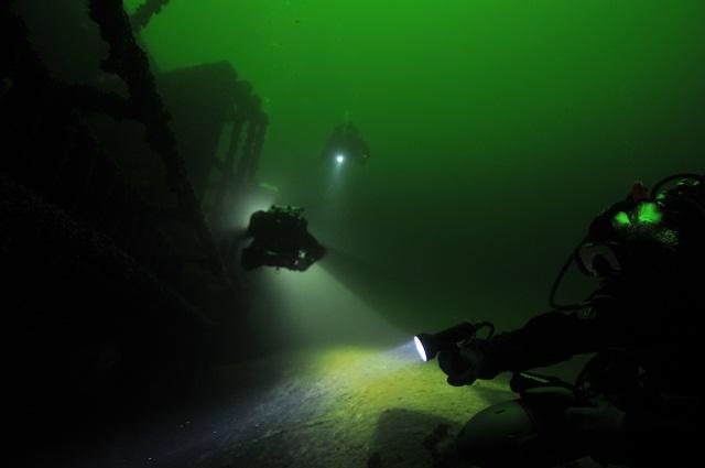 Nurkowanie wrakowe Morze Bałtyckie