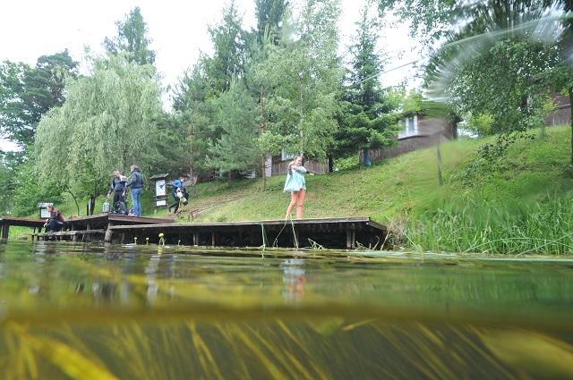 Jezioro Świętajno i Krutynia Nurkowanie