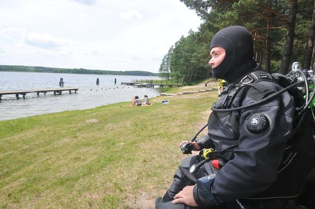 Wyprawy nurkowe - jezioro Gim