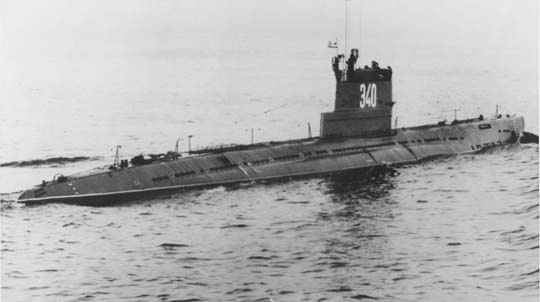 "Rosyjski okręt podwodny klasy ""Whisky"""