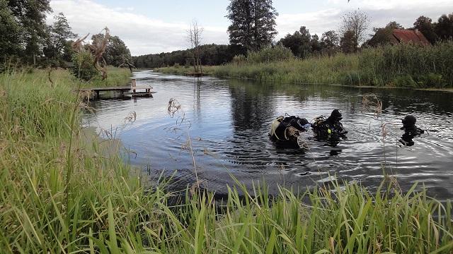 Wyprawy nurkowe - rzeka Omulew