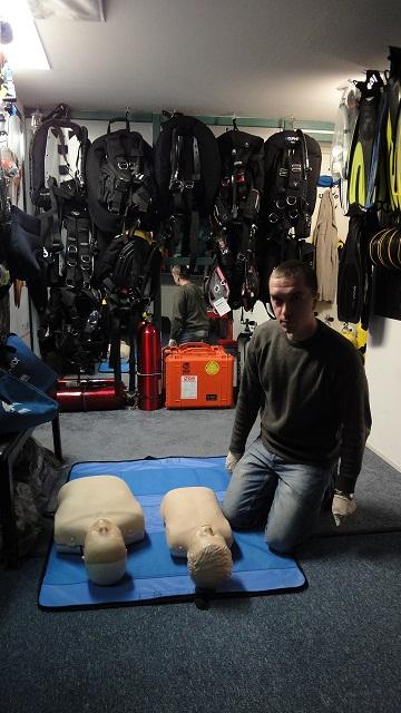 Kurs Dive Master PADI
