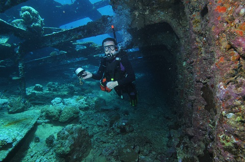 Kurs Nurkowanie Wrakowe, w zatopionych statkach - Wreck Diver