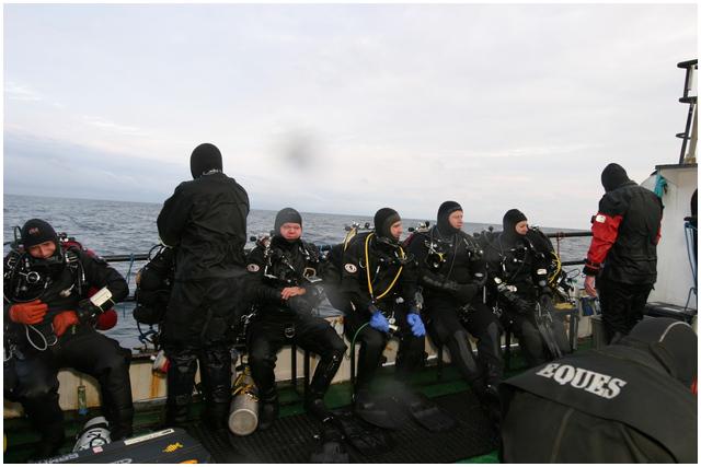 wyprawy nurkowe - Bałtyk