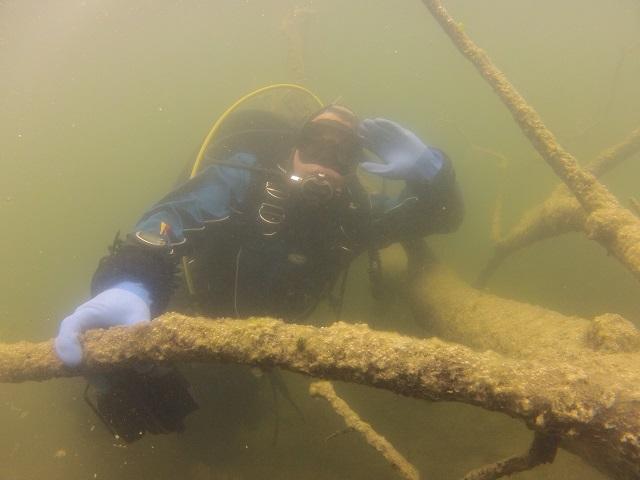wyprawy nurkowe - jezioro orłowskie