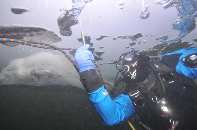 Wyprawy nurkowe - nurkowania podlodowe Hańcza