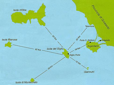 Wyprawy nurkowe - archipelag wysp toskańskich
