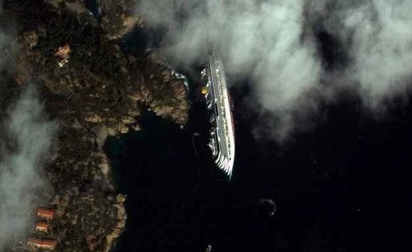 Wyprawy nurkowe - Costa Concordia