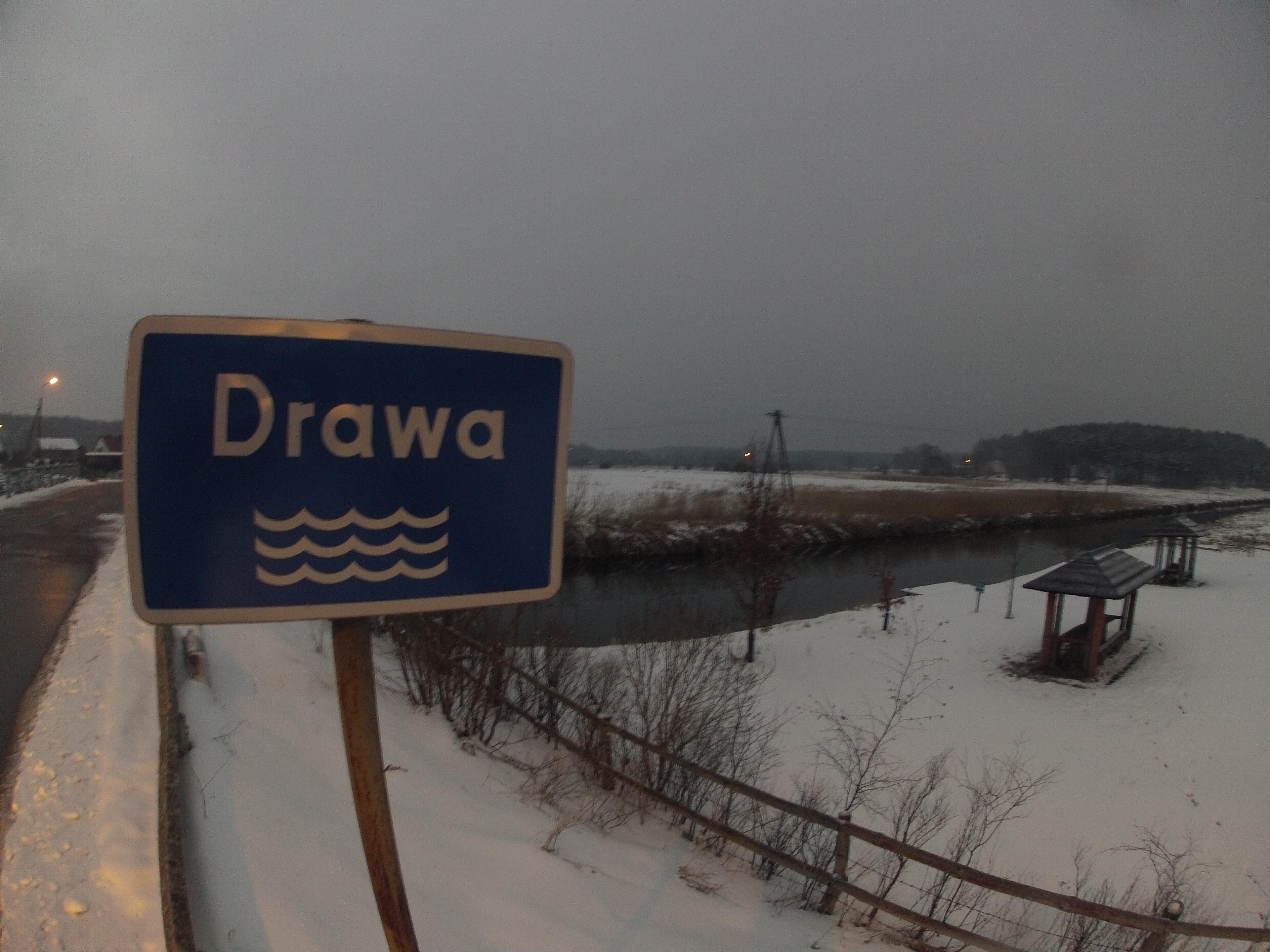 Wyprawy nurkowe - rzeka Drawa