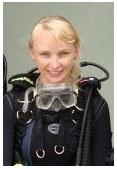 Magda Młynik, nurkowanie z Best Divers