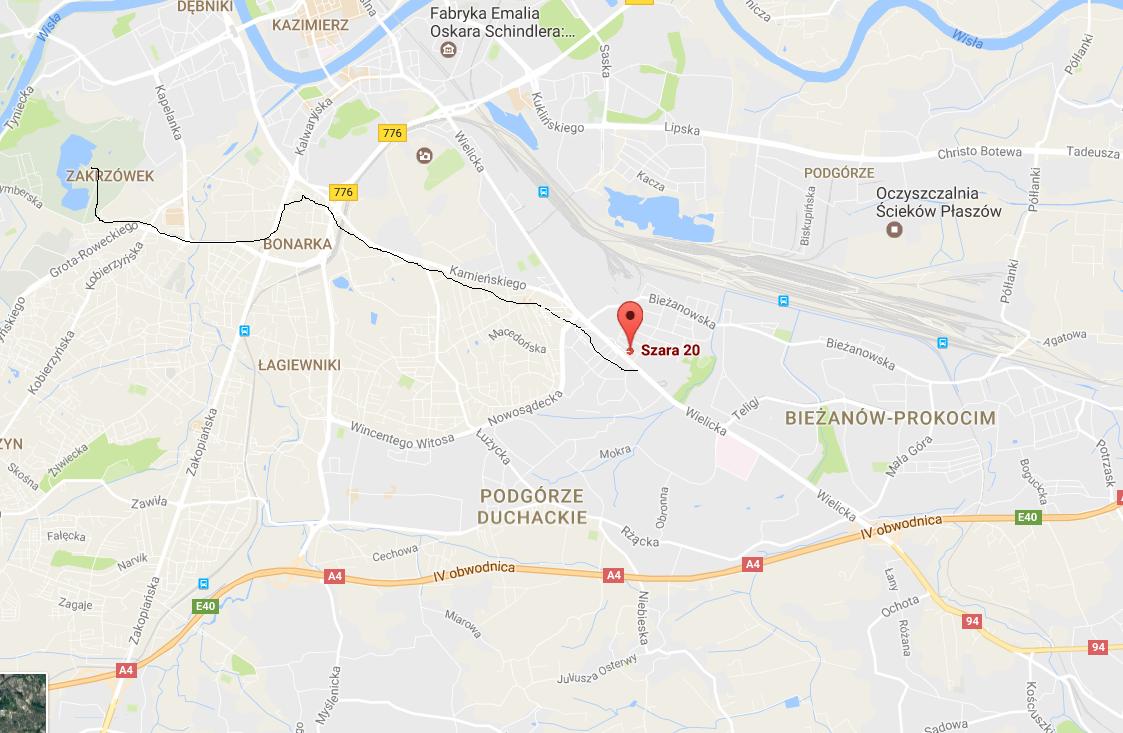 Krakow_dojazd