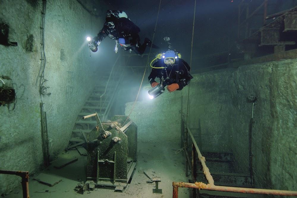 Nurkowanie Kobanya Budapeszt - Kobanya Mine i Molnar Janos