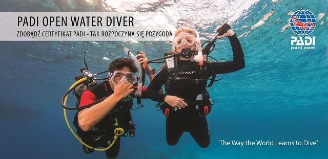 Podstawowy kurs nurkowania Warszawa - OWD