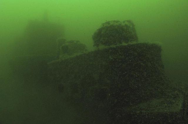 Wyprawy nurkowe - ORP Groźny - Bałtyk