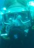 Baśka Brzewska, nurkowanie z Best Divers