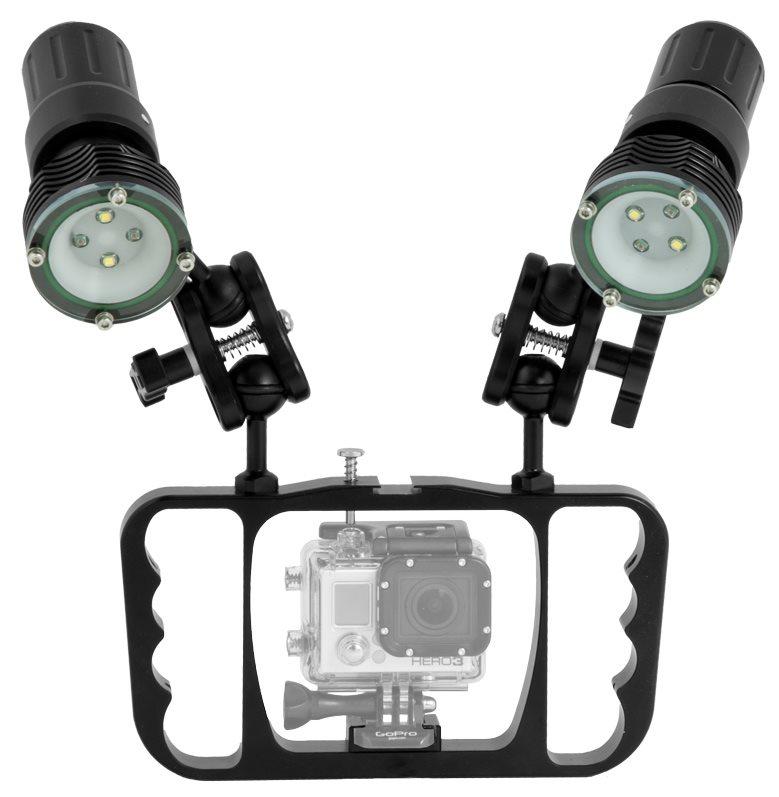 Zestaw oświetleniowy do GoPro