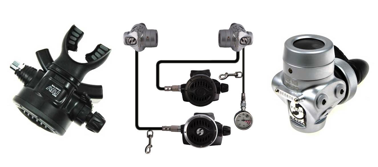 zestaw Scubatech Dir Set z manometrem
