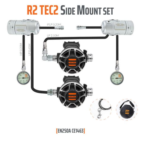 Automat R2 Tec2 Zestaw Side Mount