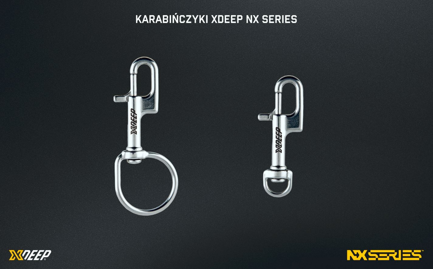 Karabińczyki NX Series Xdeep